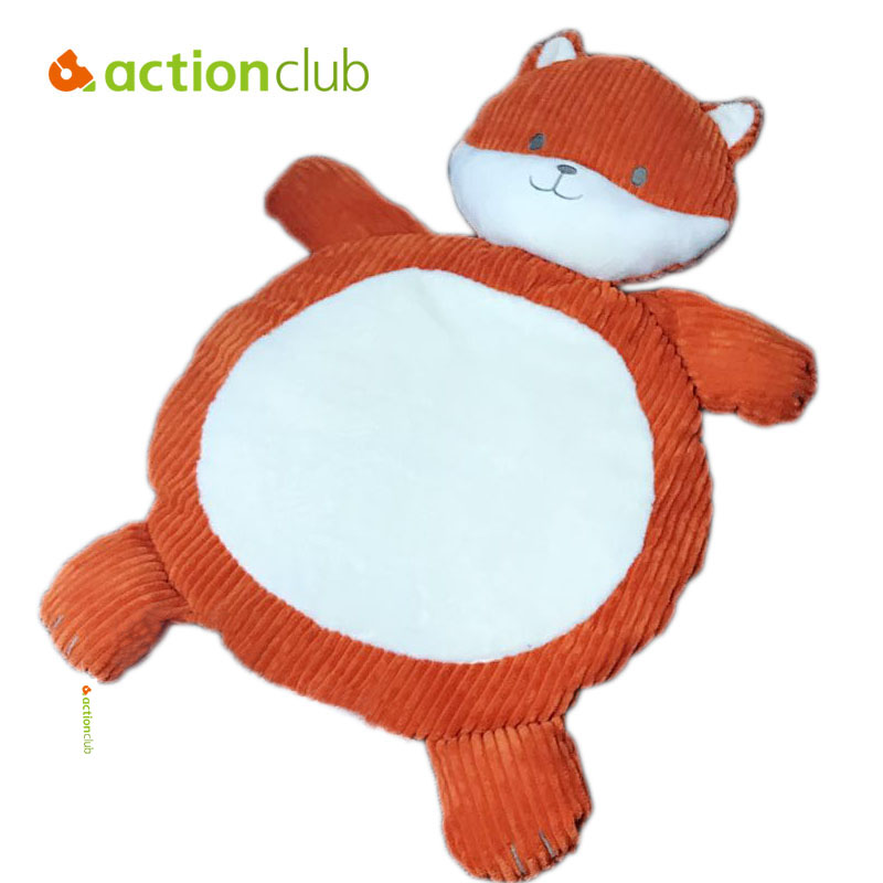 Actionclub Baby Play Mat Plush Toy Animal Kids Game