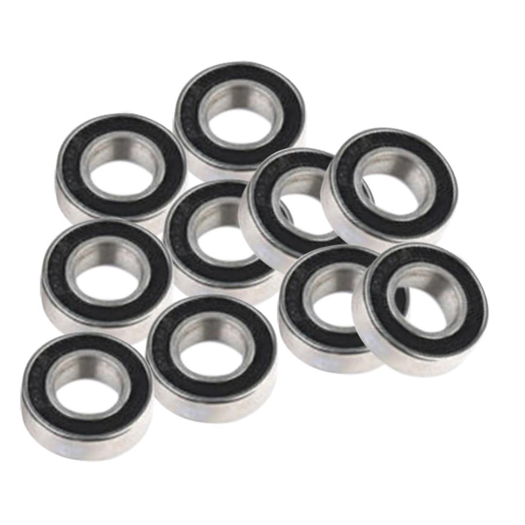 10pcs 688-2RS 688 RS Miniature Bearings Set 8x16x5mm Rubber Sealed Ball Bearing For CNC Parts free shipping 50pcs lot miniature bearing 688 688 2rs 688 rs l1680 8x16x5 mm high precise bearing usded for toy machine