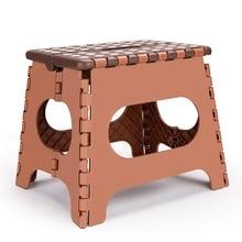 مقعد قابل للطي خفيف الوزن للأطفال أو الكبار آمن من البلاستيك كرسي قابل للطي محمول مع مقابض مقعد حمام مضاد للانزلاق