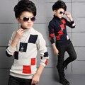 Детская одежда мальчиков ребенок свитер ребенка свитер свитер мальчик свитер осенью и зимой о-образным вырезом свитер утолщение
