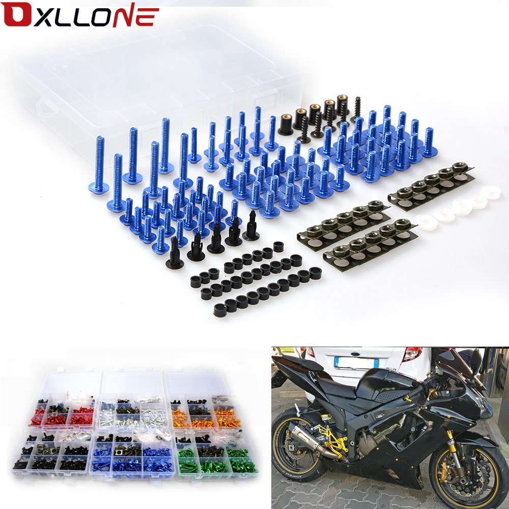 Motorcycle Fairing Bolt Screw Fastener Fixatio For Honda CBR500R CB500F <font><b>CB500X</b></font> <font><b>2013</b></font> 2014 CBR 500R CB500 image