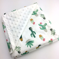 Baby Cotton Thin Super Soft Flannel Blanket Newborn Toddler minky Baby Blanket Stripped Swaddle Wrap Bedding Covers Bubbles