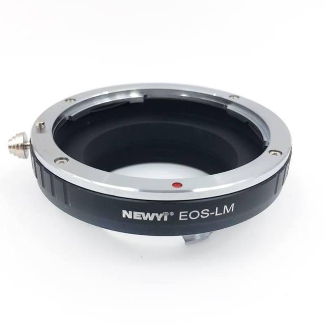 Newyi Ef Lm محول لكانون Eos Ef عدسة إلى Leica M M9 مع ل temap Lm Ea7Ii عدسة الكاميرا محول محول حلقة