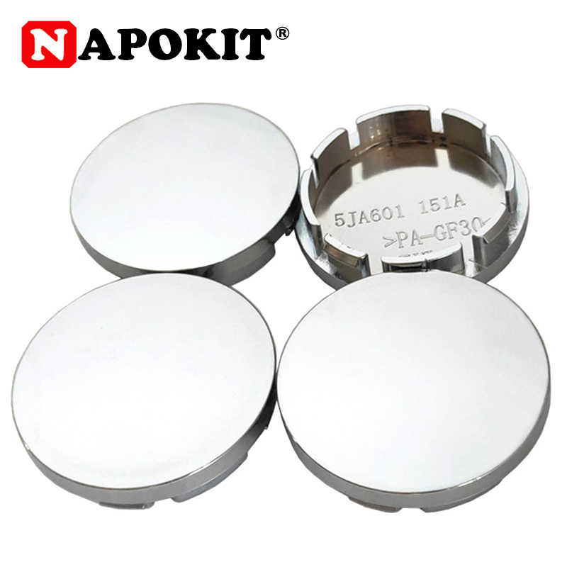 4PCS/lot 56MM Chrome Car Wheel Center Hub Caps Badge Emblem Sticker Decal Wheel Rim Dust-proof Cover for 56mm Logo Badge