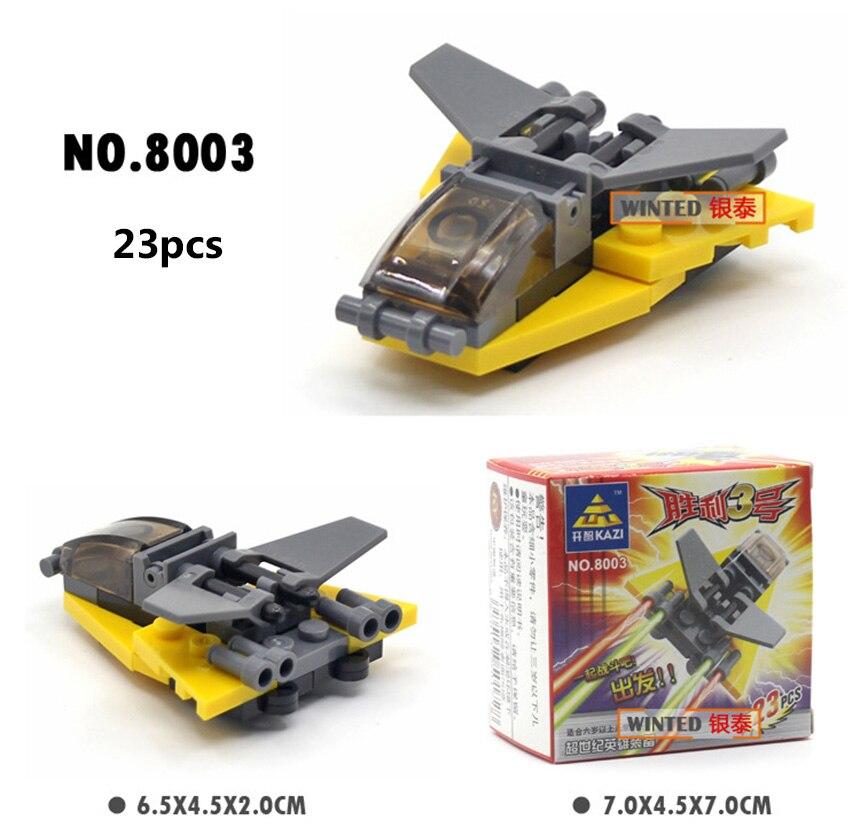 Mini bloques de construcción militares DIY montado transporte - Juguetes de construcción - foto 2