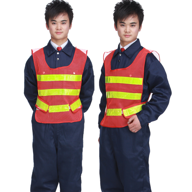 2013 new fashion Nb103 high visibility jacket vest clothes safety clothes reflective vest  free shipping