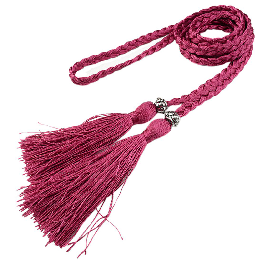 Chinese braided style Woven tassel belt knot decorated waist chain waist rope