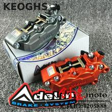 Discount! Keoghs Motorcycle The Original Adelin 4 Piston 40mm Brake Caliper Stable And Power Brake Reality Can Be Checked Forged And Cnc