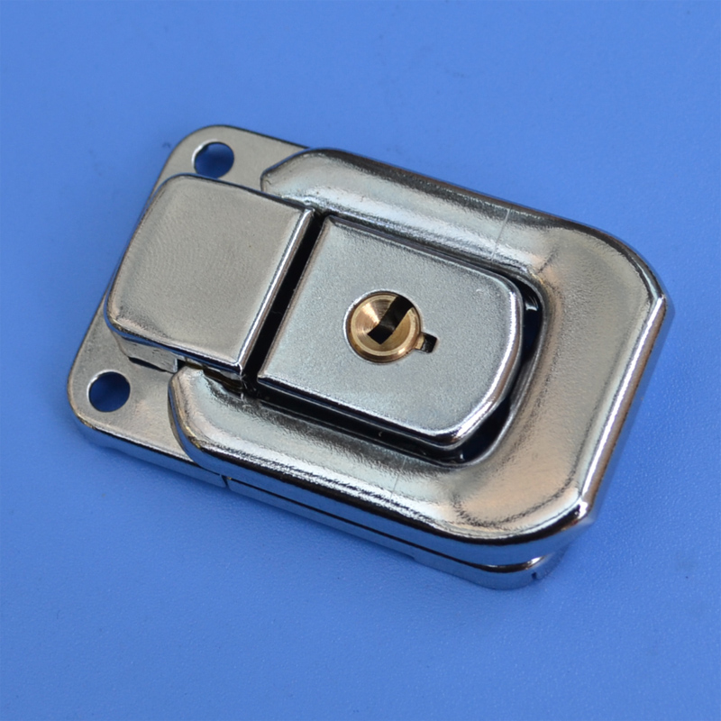 free shipping metal hasp air box storage buckle art tool case fastener Luggage hardware  ...