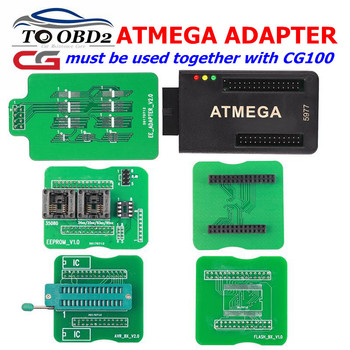 High quality ATMEGA Adapter works for CG100 CG 100 Airbag Restore Device Restore Tool for CG100 SRS Airbag Reset Tool
