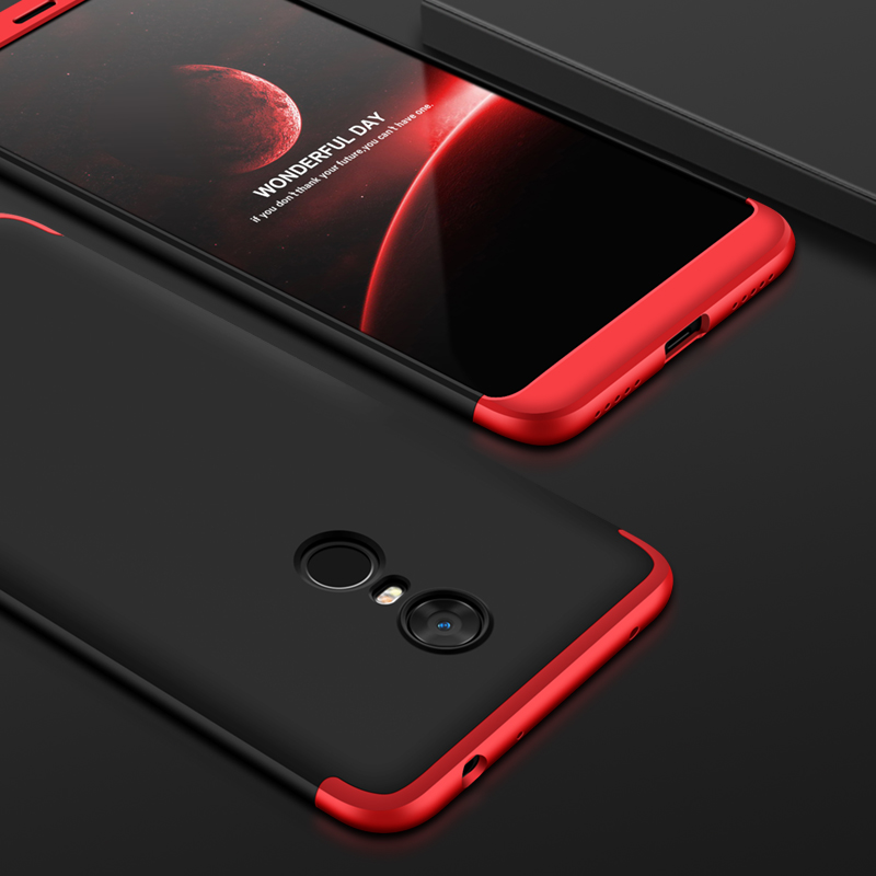 389a278786a GKK Case For Xiaomi Redmi 5 Plus Case 360 Degree Full Protection Business  Matte Hard 3 In 1 Cover For Redmi 5 Note 5 Pro Fundas