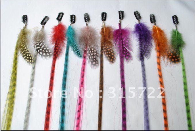 15 39 39 extension de cheveux de plume clip sur les cheveux - Plume dans les cheveux ...