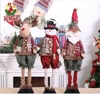 2018 Navidad Christmas Decorations For Home Christmas Gift Retractable Christmas Doll