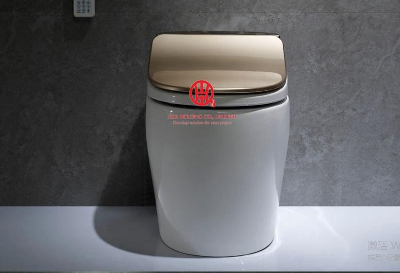 Intelligent Toilet Wc Smart Toilet Commode 220V Europe S-trap 300/400mm Factory Price Ceramic Mobile Toilet Bathroom