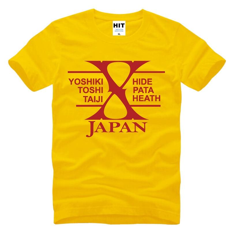 Japanski rock bend X-JAPAN Tiskana Muška Muška Majica Majica Moda - Muška odjeća - Foto 6