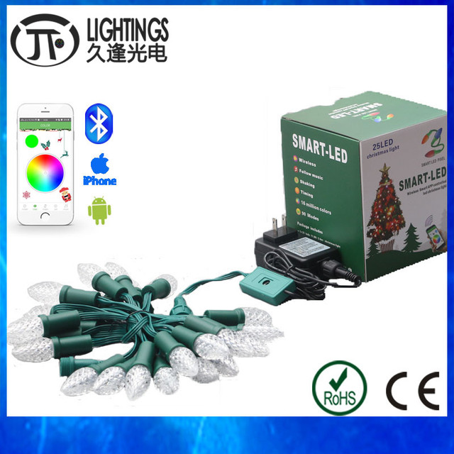 10 sätze LED weihnachtsbeleuchtung string outdoor Adressierbare ...