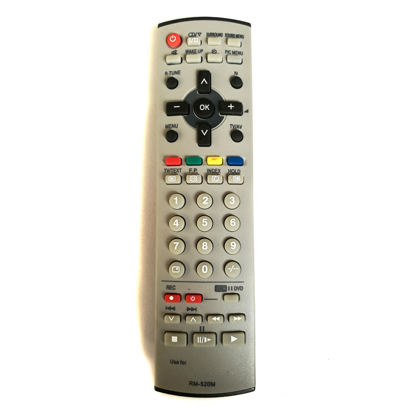 New Universal Remote Control For Panasonic RM-520M RM520M LS-223 N2QAJB000080 EUR7628030 TV Fernbedienung Free Shipping chunghop rm l7 multifunctional learning remote control silver