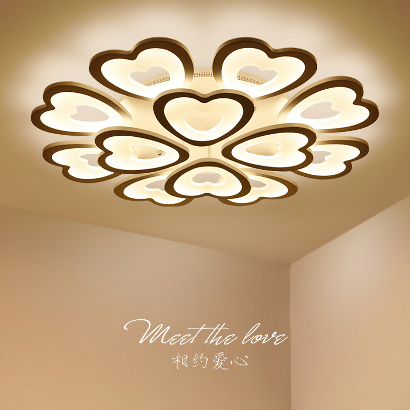 Nordic LED living room ceiling lamps Modern Novelty Acrylic ceiling lights creative bedroom Fixtures diningroom ceiling lighting