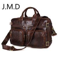 JMD 2018 Новый высокое качество 100% натуральная кожа сумки из натуральной кожи путешествия Back pack сумка 7026