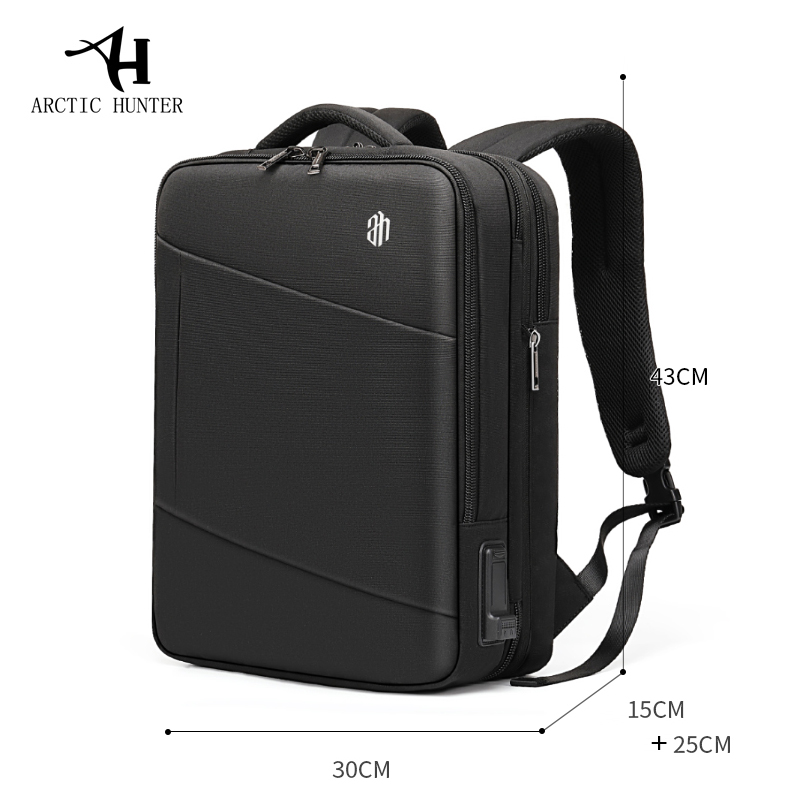 15.6 inch Multi functional Business Laptop Backpack - Water & Tear Resistant 3