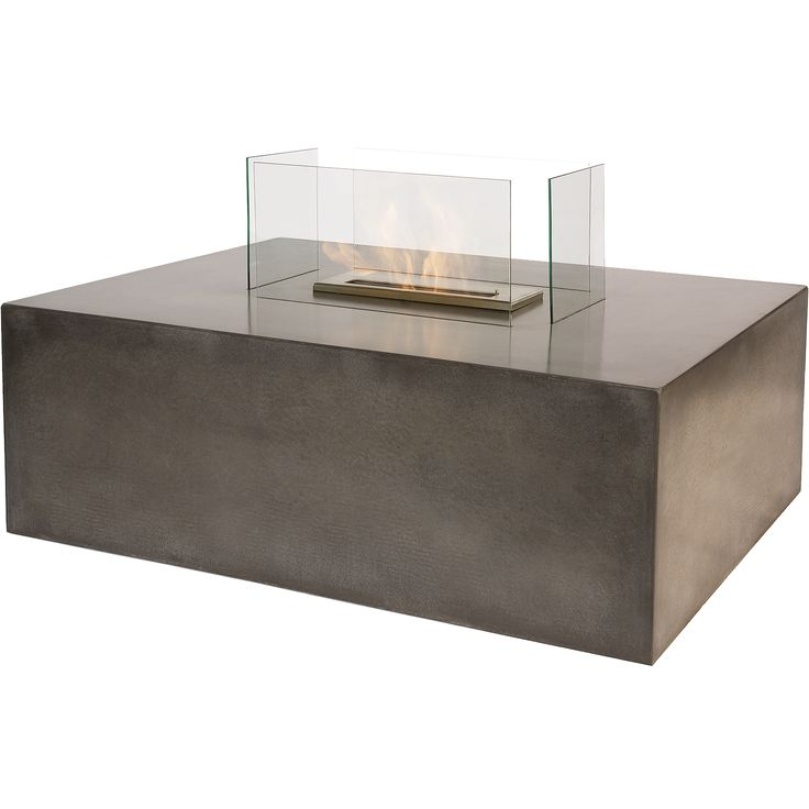 On Sale  Ethanol Fireplace Insert For Coffee Table Remote Control  Fireplace