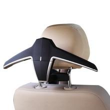 E-FOUR вешалка в автомобиль ABS сиденье назад прищепки для одежды костюм куртка скольжения вешалка мода автомобиль крепления в транспортном средстве заднее сиденье вешалка