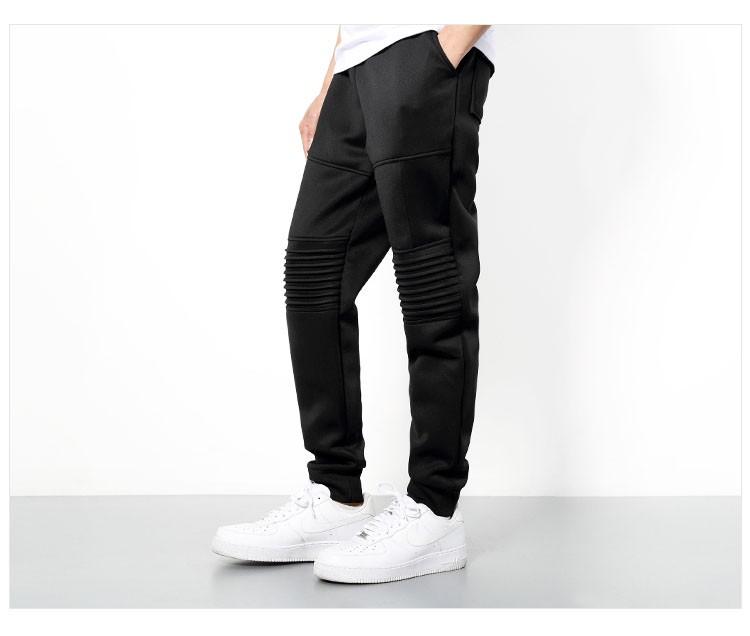 Men Sport Pant Space Cotton Joggers Harem Pants Fashion Hiphop Sport Tracksuit Mens Solid Black Jogging Trousers Sweatpants 3XL (14)