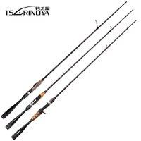 Tsurinoya AGILE 1.96m/2.01m L/ML FUJI accessories Fishing Lure Rod Ultra light Weight Carbon Handle Fish Spinning/Casting Rod
