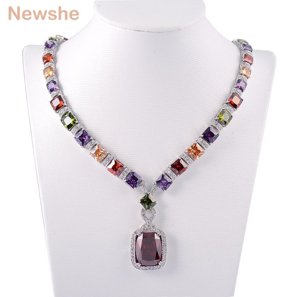 5 Buah Mode Set Perhiasan Paduan Emas Mutiara Berlian Imitasi Antik Kalung Cincin Rodhium Newshe Multi Warna Rhodium Berlapis Anting Pelanggan Membuat Hadiah Untuk Wanita