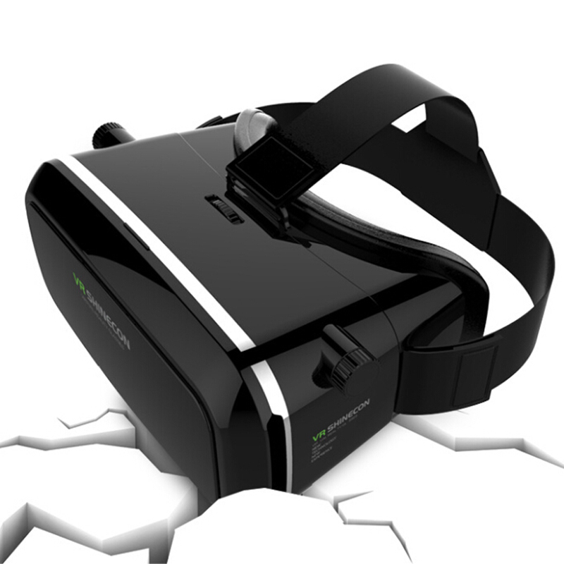 Hot Selling Virtual Reality font b VR b font 3D Glasses Oculus Rift Head Mount 3D