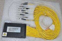 Darmowa wysyłka GPON EPON 2.0mm 1.5 M 1x64 ABS Box 1 64 FC/UPC złącze włókna optyczny rozdzielacz PLC