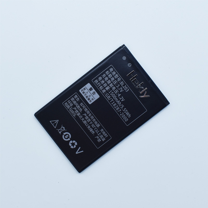 Hekiy 2018 New Replacement Rechargeable BL203 Battery for Lenovo A278T A365E A308T A369 A66 A318T A385E Batterie Bateria
