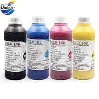 500ML 4color,4*500ml Digital Textile Ink For Epson R1800 R1900 R2000 R3000 F2000 1390 1400 1410 1430 Printer Dtg Ink ,BK C M Y