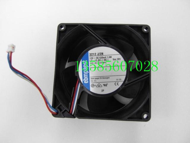 PAPST New ebmpapst fan blower papst 3212J/2N 9238 12V 7.6W