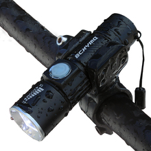2000 Lumen USB Rechargeable Bicycle Light MTB Bike Light Zoom Flashlight Waterproof Built-in Battery Bicycle Accessories