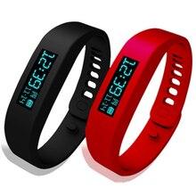H01 Смарт Здоровый Спорт часы Беспроводной Bluetooth здоровый браслет часы желе мульти-Цвет OLED Шагомер Смарт часы