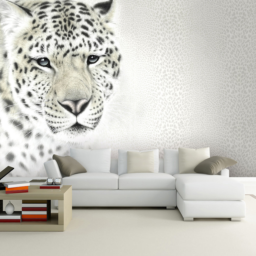 Fantastisch Leopard Tapete Ideen - Hauptinnenideen - kakados.com