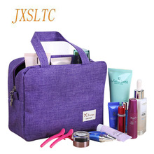 Portable Cosmetic Bag for cosmetics Organizer Cases Beauty Vanity makeup kit Travel organizer Wash toiletry bag Women's handbags