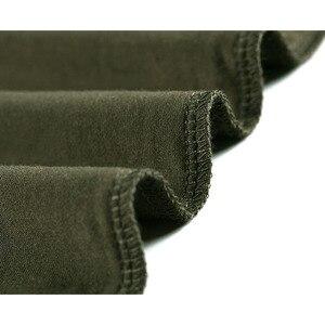 Image 4 - Мужская футболка с коротким рукавом из бамбукового волокна, удобная летняя футболка большого размера для мужчин 2020, свободная Черно белая серая футболка с v образным вырезом T16