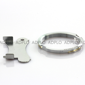 Image 4 - M42 PK, adaptador de lente para lente de montaje de tornillo Focus Infinity M42 para adaptarse a la Cámara Pentax para anillo de adaptador de montaje al cuerpo PK (Plata)