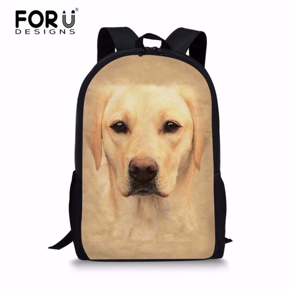FORUDESIGNS 16 inch Bag Teenager Travel Backpack Men/Women Backpack Student Knapsack for Teenager Girls Boy Travel Back Pack