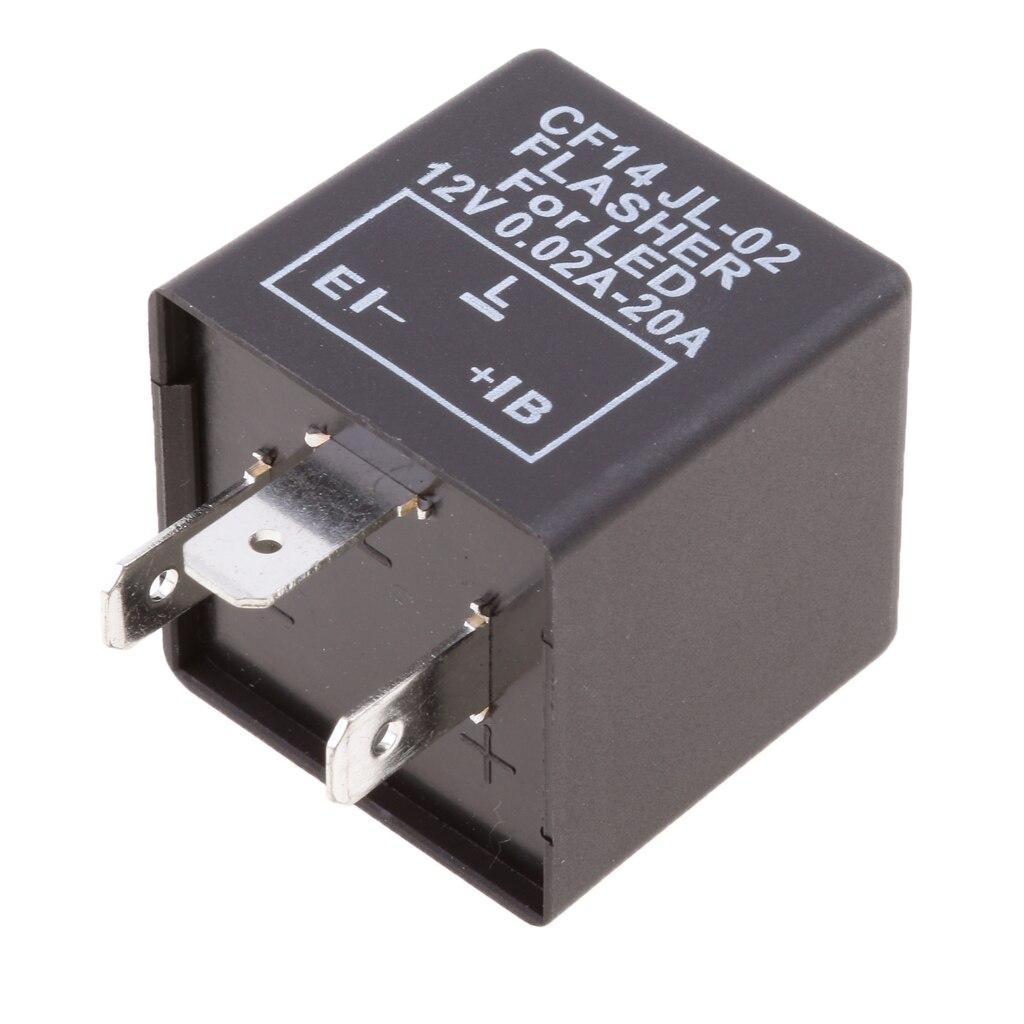 3 PIN CF14 CF-14 JL-02 EP35 LED Flasher Relay Fix ไฟเลี้ยวแฟลช Issue