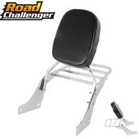 Passenger Rear Luggage Rack Support Motorcycle Backrest Sissy Bar Luggage Rack For Honda 1100 Shadow VT 1100