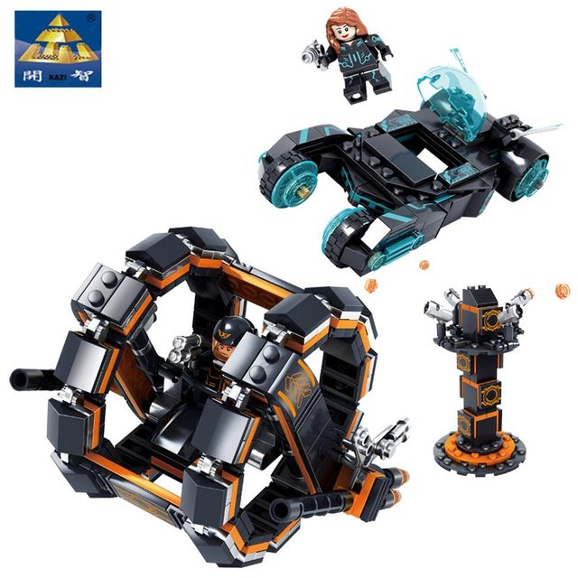 Kazi Super Heroes Future Police 464PCS DIY Bricks Toys Compatible With All Brand Building Blocks Star Wars