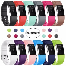 DUSZAKE For Fitbit Charge 2 Band Replacement Accessories Bracelet Strap Charge2 Wristband
