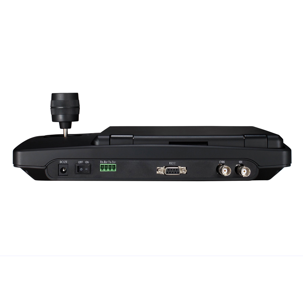 Conference equipment kits 12x Optical zoom 1080p60fps HDMI SDI IP ptz camera With 8inch TFT LCD rs232 RS485 ptz controller