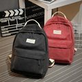 women canvas Backpack College Student School Backpack Bag for Teenagers Vintage Mochila Casual Rucksack Travel Daypack XD3774