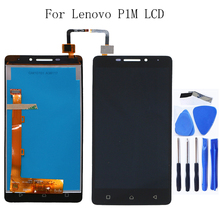 100% tested for Lenovo Vibe P1m P1MA40 P1mc50 new LCD monitor touch display digitizer free shipping free shipping io data lcd ad191xb2 lcd ad191x2 universal power board eadp 50cf d pressure plate original 100% tested working