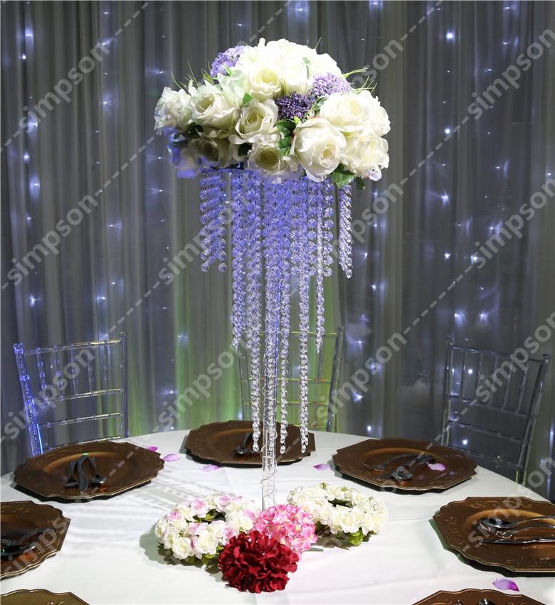 Popular crystal wedding centerpiece buy cheap