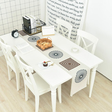 Modern Simple Thick Cotton Linen Table Flag Nordic Coffee Table TV Cabinet Dust-proof Cover Cloth Table Runner Home Supplies цена